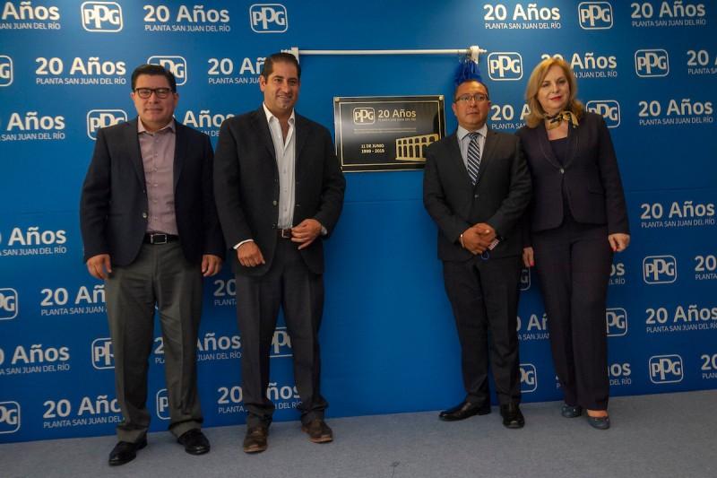 20 aniversario de la empresa PPG en san juan del rio PL 12