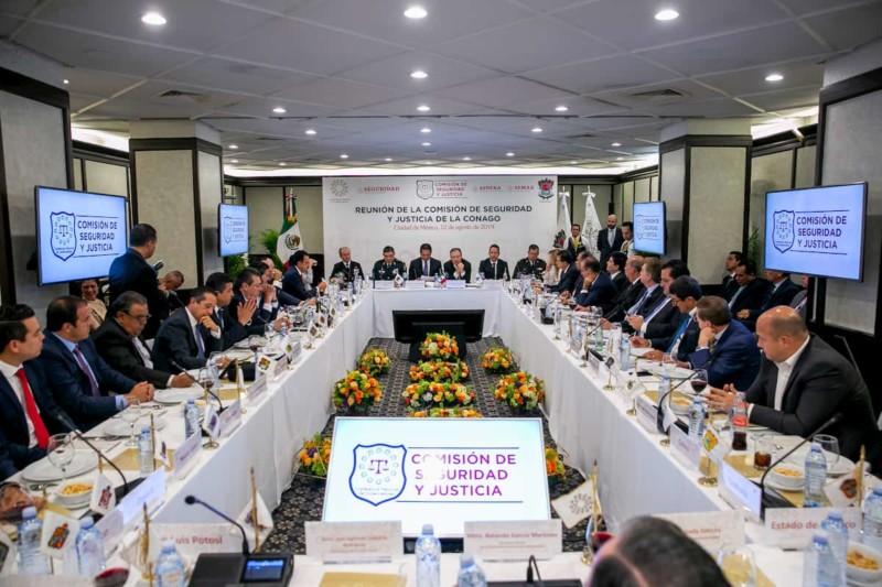 Francisco Domínguez participa en reuniones de Seguridad Nacional