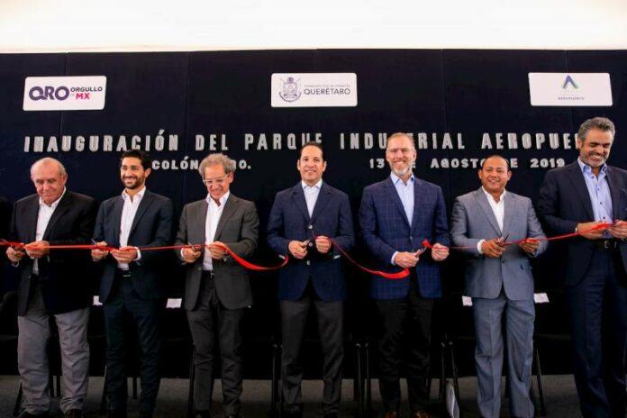 Inaugura Gobernador Parque Industrial Aeropuerto en Colón