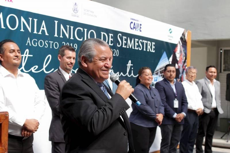 Inician cursos 665 alumnos en el CONALEP Aeronáutico de Querétaro 1