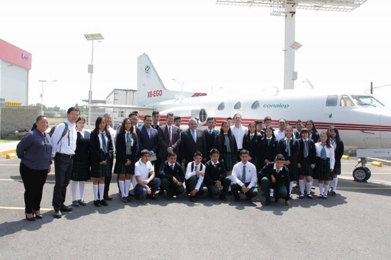 Inician cursos 665 alumnos en el CONALEP Aeronáutico de Querétaro 2