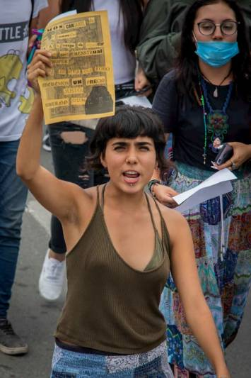 Marchan contra el alza al transporte público en Querétaro 5