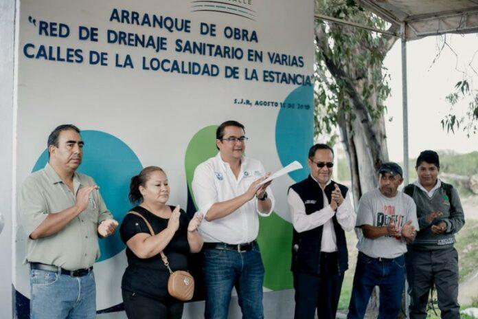 Obras y Apoyos por 12 mdp en La Estancia en 2019: Memo Vega