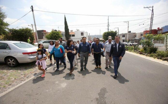 13.5 millones de pesos para reconstrucción de calles en El Sabino: Luis Nava