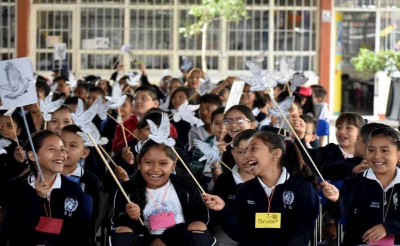 """Niñas y niños podrán hacer la diferencia a través del Festival """"Un Canto por la paz"""""""
