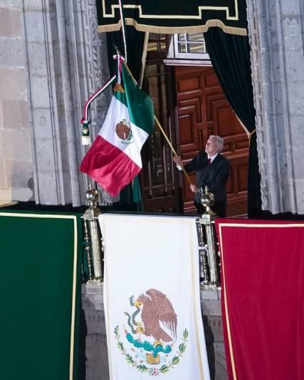 Galería ceremonia Grito de Independencia AMLO