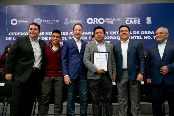 Querétaro número uno a nivel nacional en ejecución de obra educativa: Gobernador
