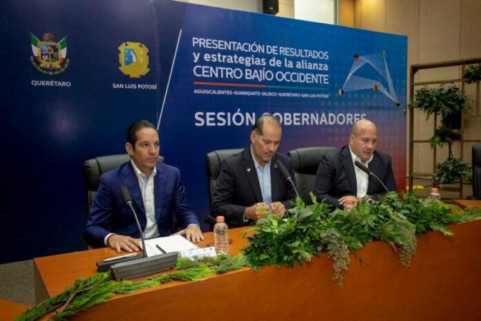 El Gobernador de Querétaro participa en la reunión de la Alianza Centro-Bajío-Occidente