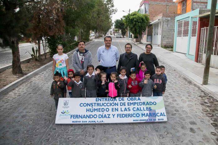 Entrega Memo Vega Calles En Nuevo San Juan 1