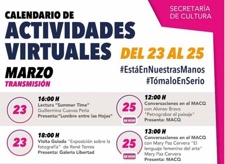 Querétaro Ofrece Actividades Culturales En Línea