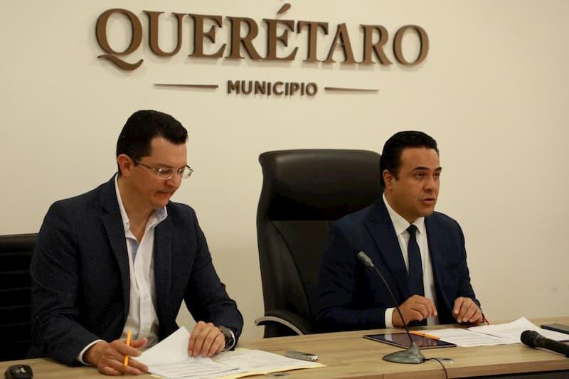 Anuncia Luis Nava apoyo económico de 100 mdp por contingencia en Santiago de Querétaro