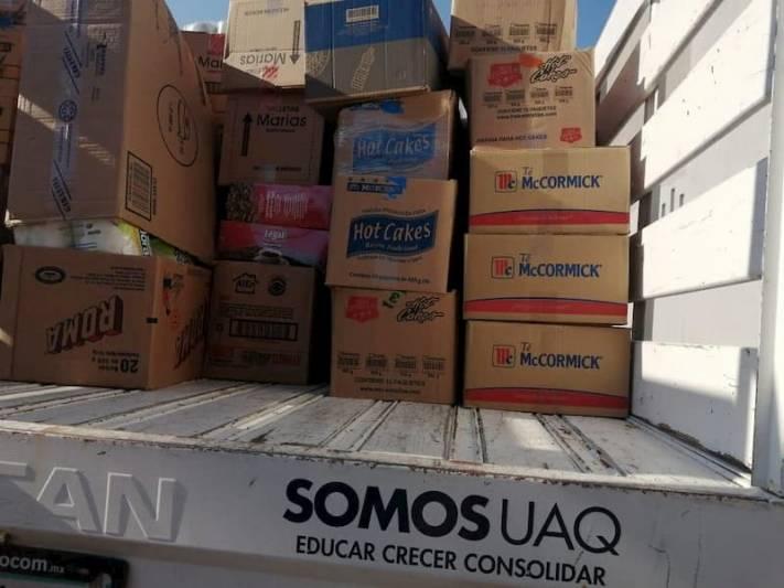 Apoya UAQ a estudiantes, trabajadores y sus familias durante pandemia