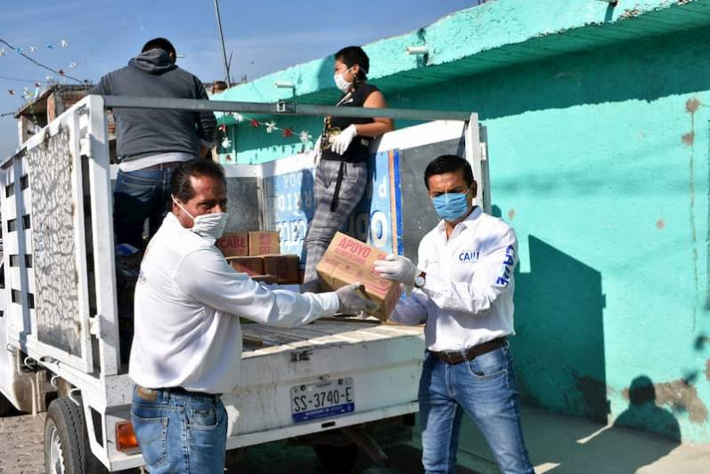 Dif Municipal Entrega Apoyos A Adultos Mayores En Pedro Escobedo
