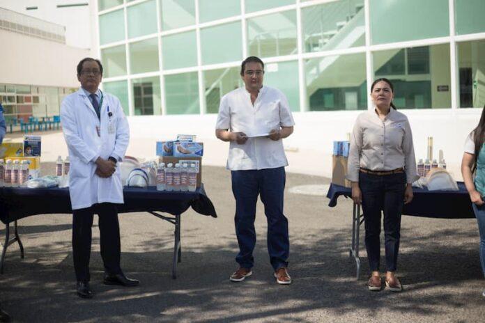 Entrega Memo Vega Material De Seguridad A Hospital General E Imss De Sjr