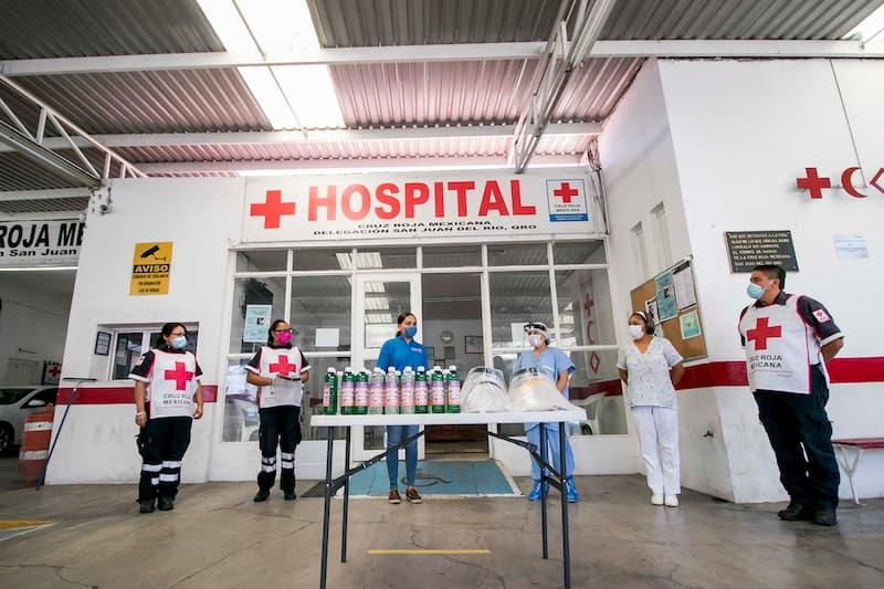 Recibe Cruz Roja SJR equipo de Protección Sanitaria contra COVID-19