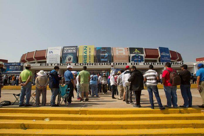 Por Covid19 Habilitan Centro De Acopio En Estadio Corregidora De Querétaro