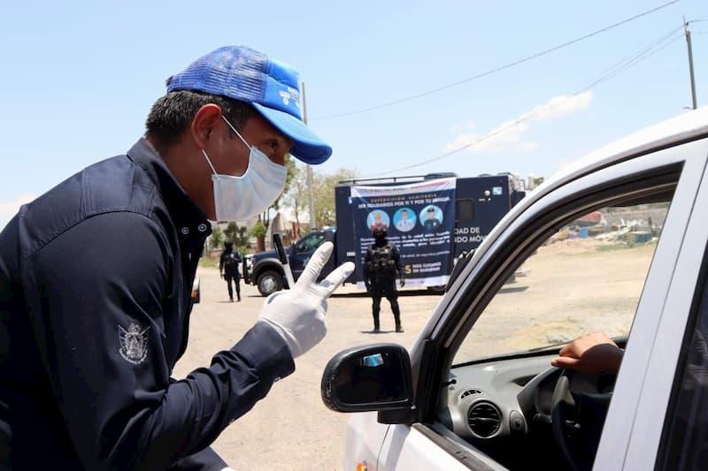 Detectan 46 posibles casos de Covid-19 en filtros de acceso a Querétaro