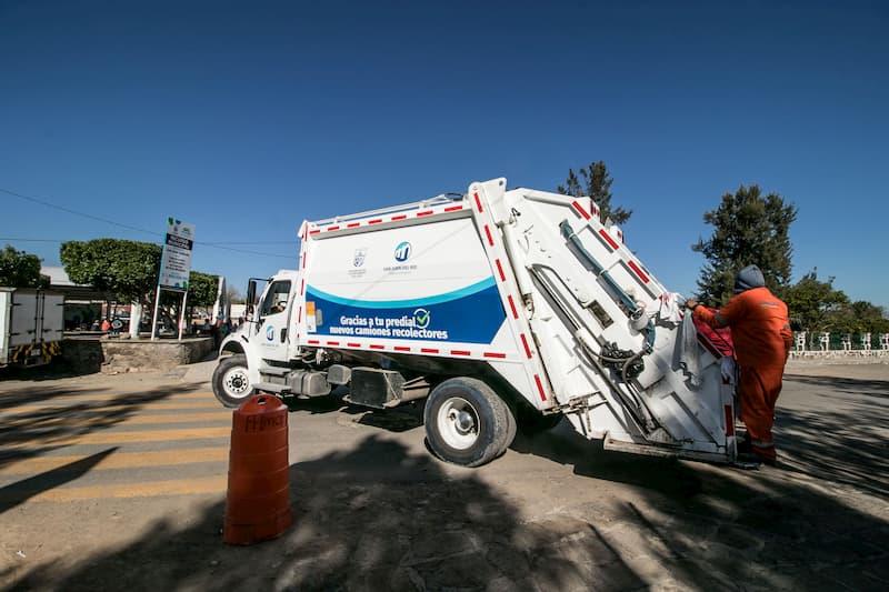 Fortalecen con personal recolección de basura en San Juan del Río