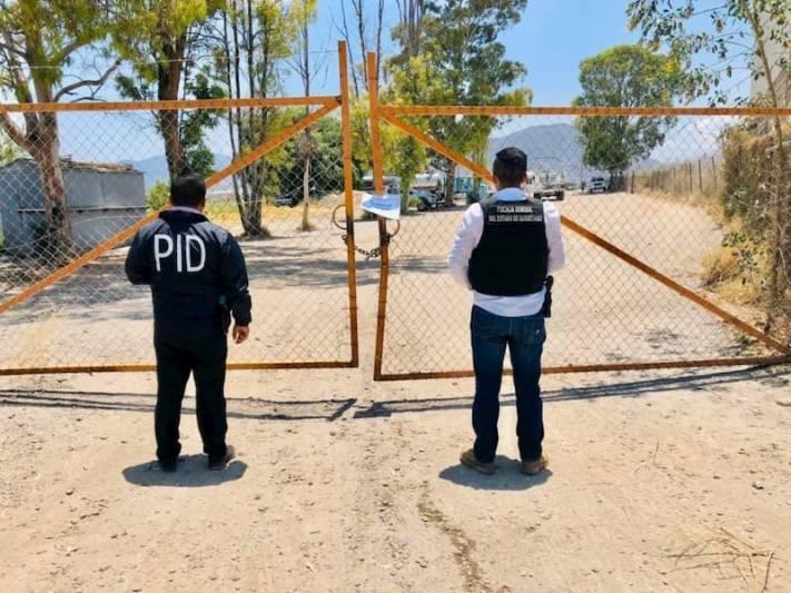 San Juan del Río Ubican autos robados en Rancho Banthí durante cateo