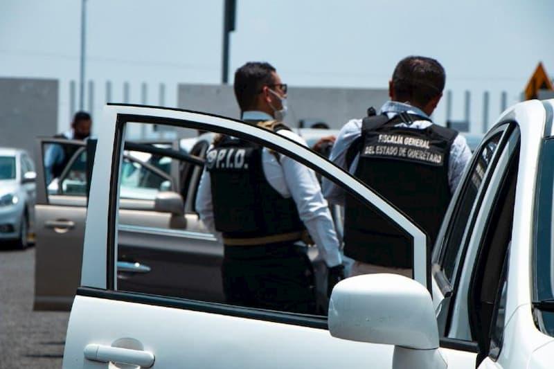 A prision 4 personas por robo a casa habitacion en El Marques Queretaro