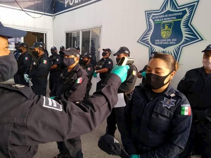 Covid 19 En Aislamiento Preventivo 2 Mujeres Policias De Sjr Queretaro