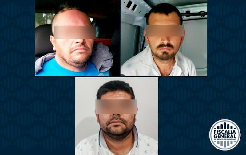 Detenidos 3 sujetos que procesaban droga para su venta en El Marqués, Querétaro