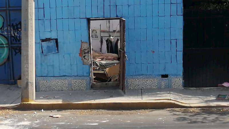 Explosión de gas derrumba vivienda de adulto mayor en SJR Querétaro