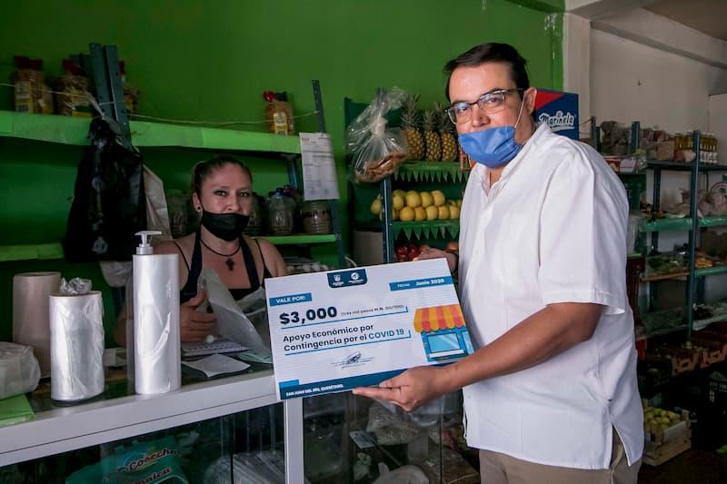 Inicia pago de Apoyo Económico por Covid-19 a negocios de San Juan del Río, Querétaro