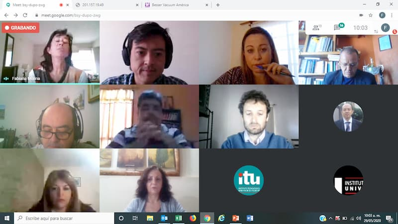 Trabaja UTSJR programa de movilidad desde casa con ITU UNCuyo de Argentina