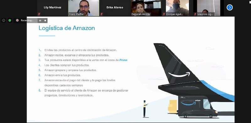 Amazon capacita a emprendedores a traves de SEDESU Queretaro 1