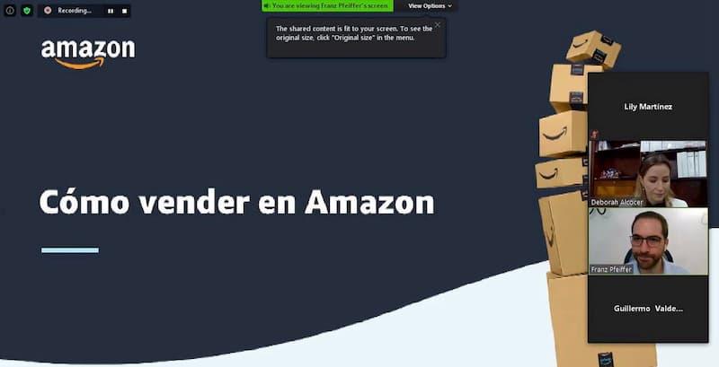 Amazon capacita a emprendedores a traves de SEDESU Queretaro 2