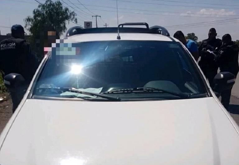 Arcos detectores en la 57 ubican camioneta robada la recuperan en Pedro Escobedo