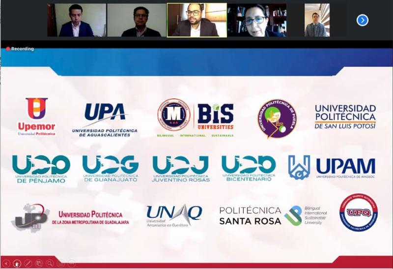Encabeza UPQ reunion con universidades de la Alianza Centro Bajio Occidente