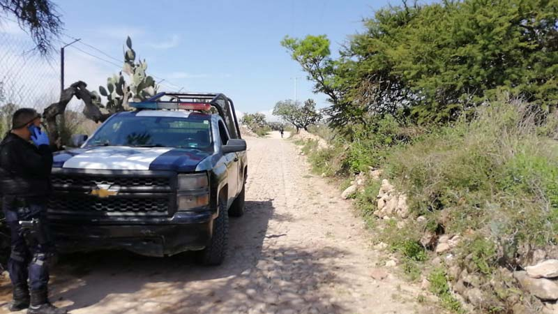 Localizan 2 personas ejecutadas y degolladas en Puerta de Palmillas, San Juan del Río QRO