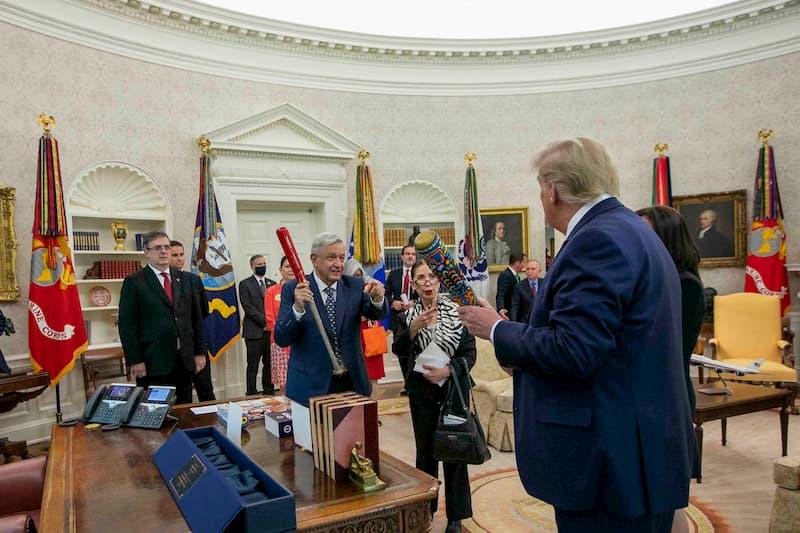 Presidente destaca respeto mutuo y relevancia del T-MEC en visita oficial a Estados Unidos