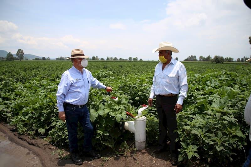 Tecnifican sistema de riego en San Juan del Río QRO