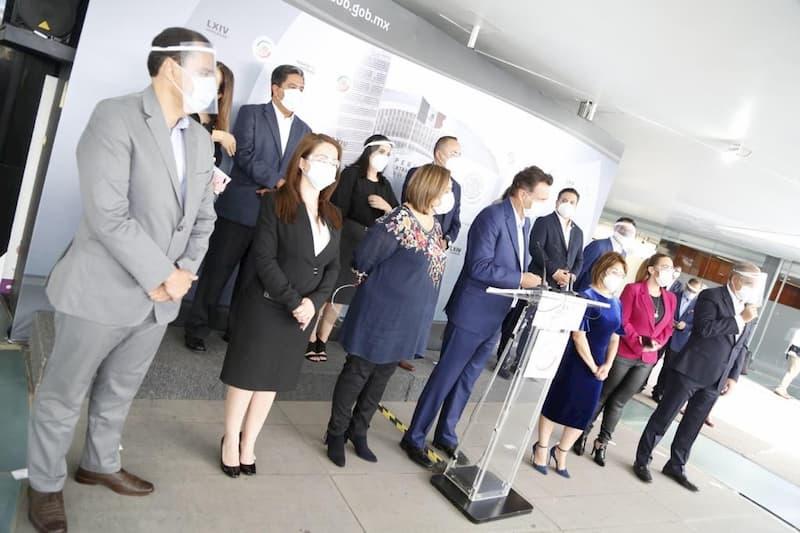 Accion Nacional maneja mejor pandemia en estados Senadores panistas