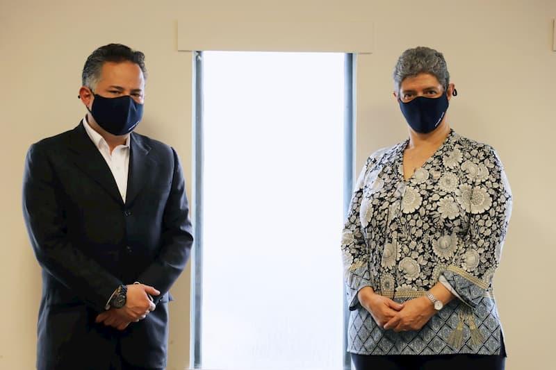 Dra Teresa García Gasca se reúne con Dr. Santiago Nieto Castillo, titular de la UIF