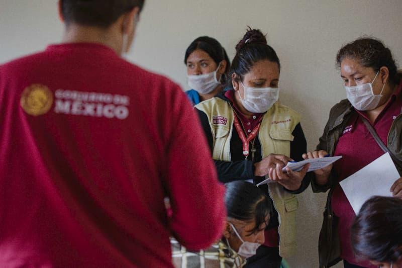 Familias queretanas en situacion de marginacion son censadas por el Gobierno de Mexico 2