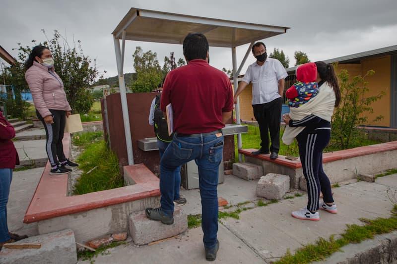 Gobierno de México financia   infraestructura hidráulica de escuelas queretanas