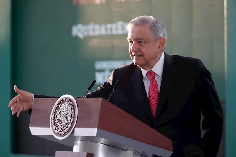 Presidente Lopez Obrador reafirma compromiso de consolidar sistema democratico 2
