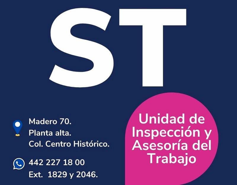 Realiza ST 110 inspecciones a centros de trabajo durante contingencia en Querétaro