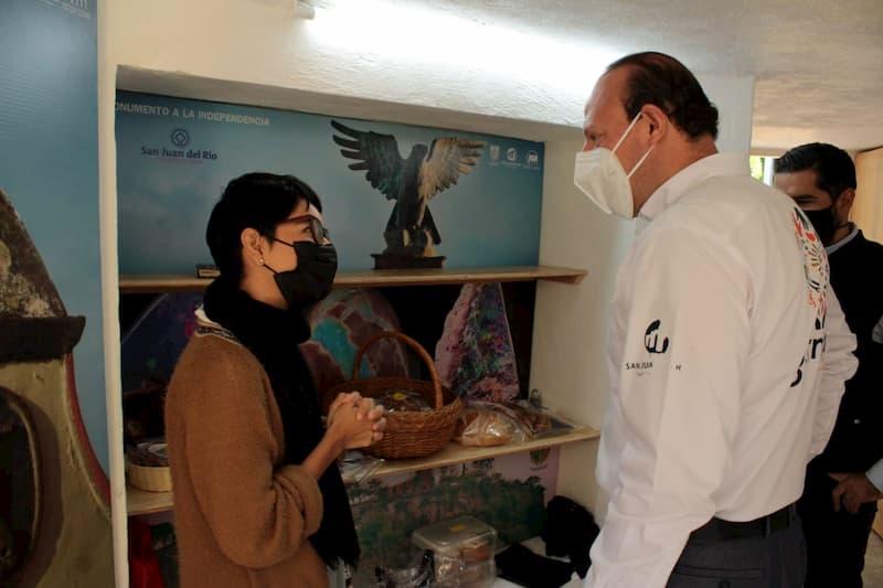 Regidor Germain Garfias promueve a artesanos sanjuanenses 2