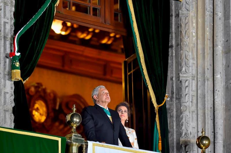 AMLO encabeza 210 Aniversario del Grito de Independencia en Mexico 1