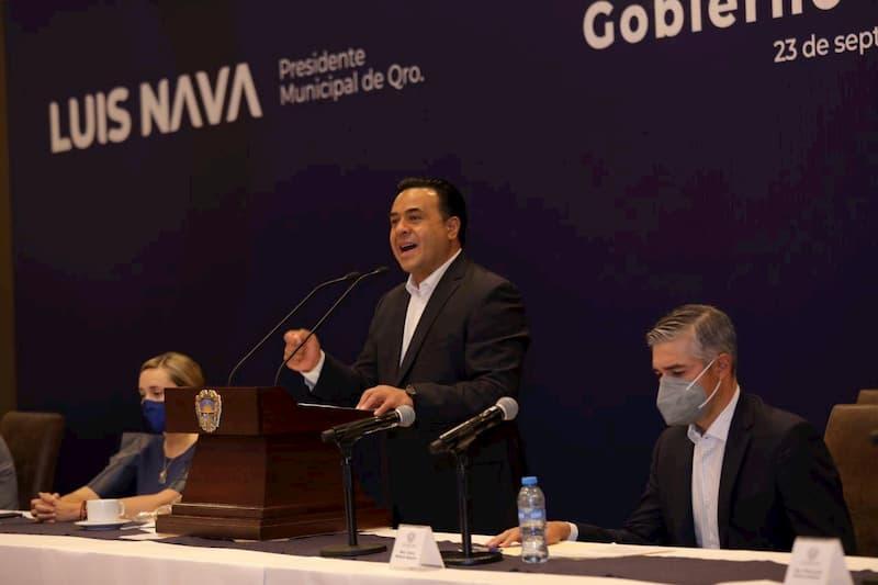 Con honestidad y transparencia, fortalecemos la confianza de los queretanos en su Gobierno: Luis Nava