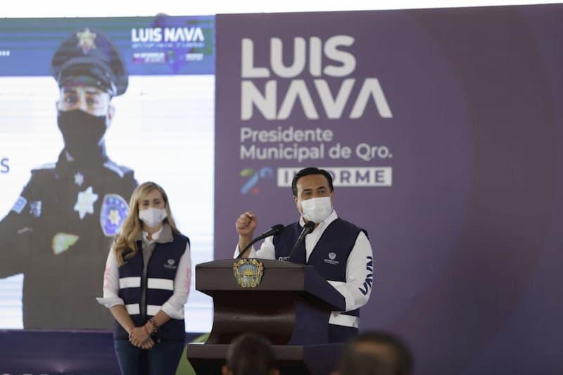 Con tecnologia y mas infraestructura para seguridad tendremos un Queretaro de Paz Luis Nava 1