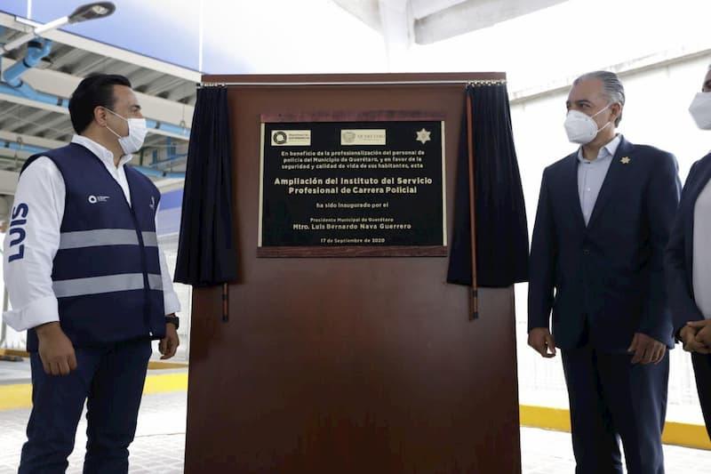 Con tecnología y más infraestructura para seguridad, tendremos un Querétaro de Paz: Luis Nava