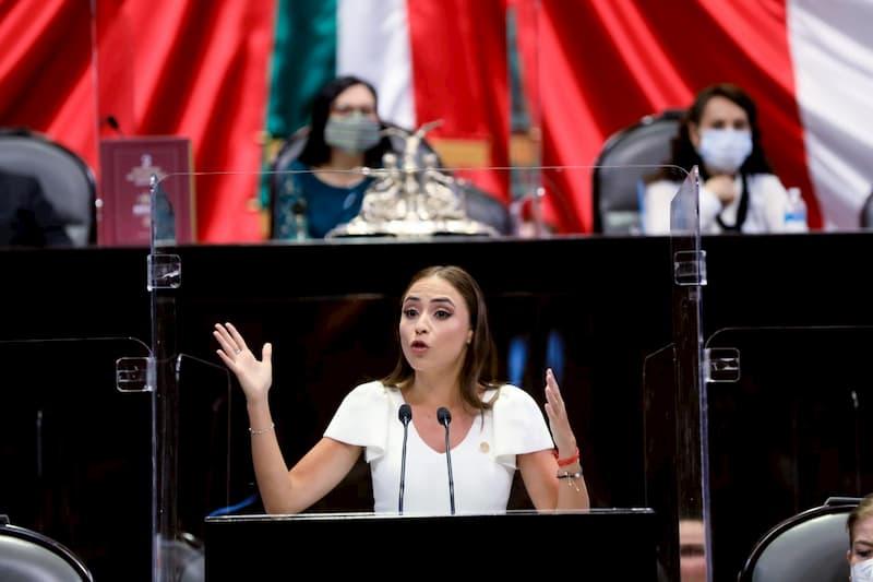 Diputada por Querétaro María Alemán responde segundo informe de gobierno de AMLO