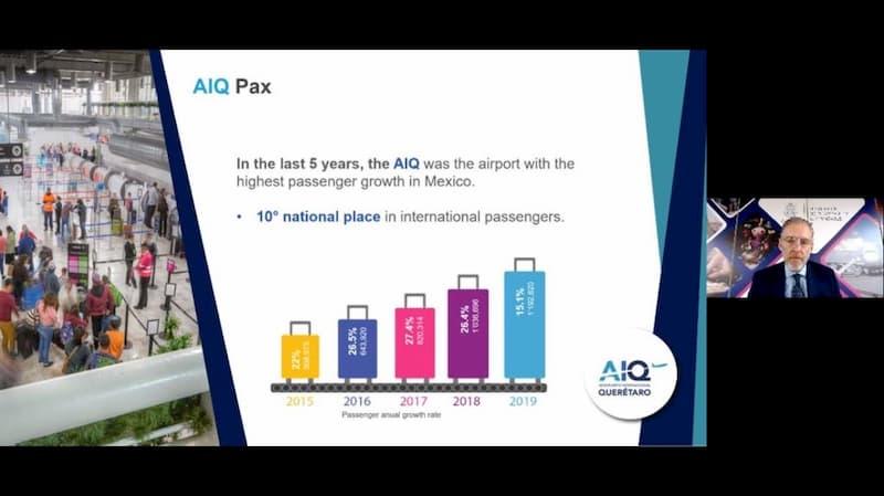 El AIQ es un importante hub logistico del pais