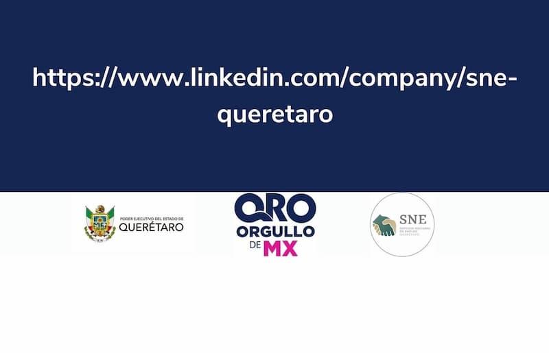 Ofrece SNE ofertas laborales a traves de Linkedin en Queretaro